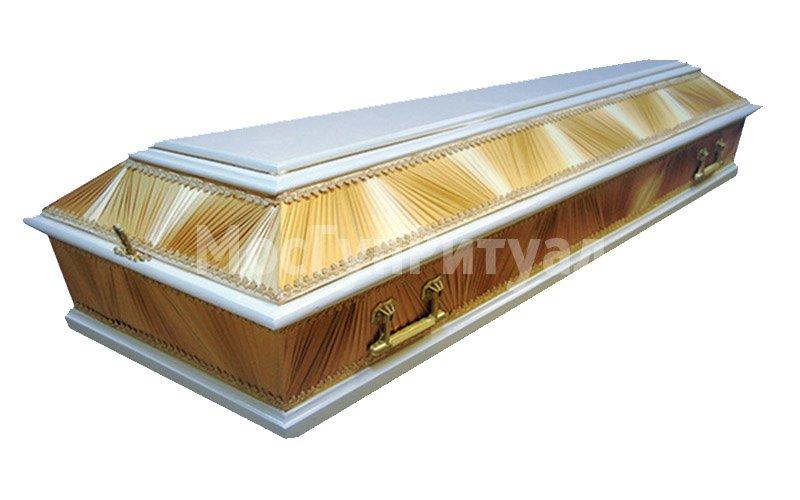 Гроб лакированный №04