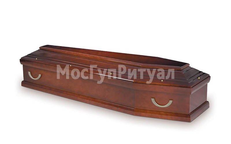 Гроб лакированный №09