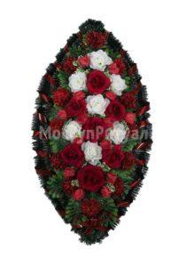 Венок ритуальный на похороны серия «стандартный» №23