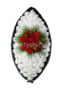Венок ритуальный на похороны серия